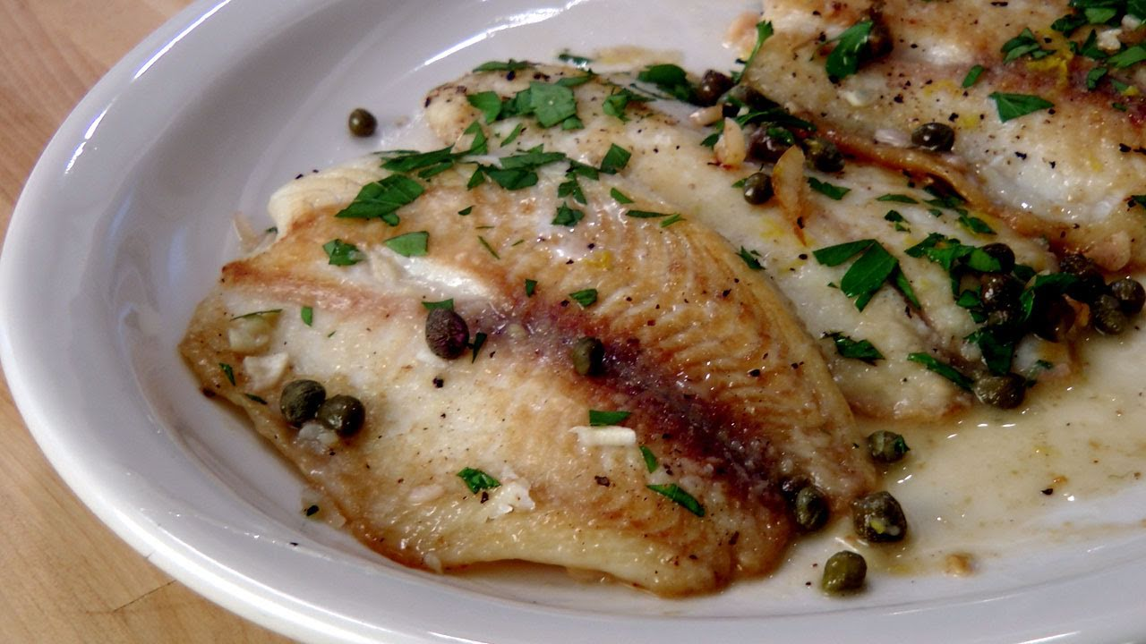 Fish Piccata Recipe – by Laura Vitale