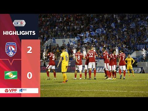 Highlights Than Quảng Ninh - Sông Lam Nghệ An Vòng 11 LS V.League 1 năm 2020