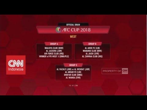 Persija Masuk Grup Berat bersama Johor Darul Ta'zim - Drawing AFC Cup 2018