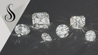 Moissanite: The Ultimate Colorless Gemstone