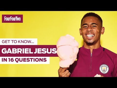 Get To Know Gabriel Jesus In 16 Questions  