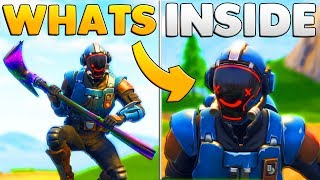 "WHAT'S INSIDE ""THE BLOCKBUSTER"" VISITOR SKIN 