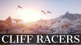 Skyrim Mod - Cliff Racers on Solstheim