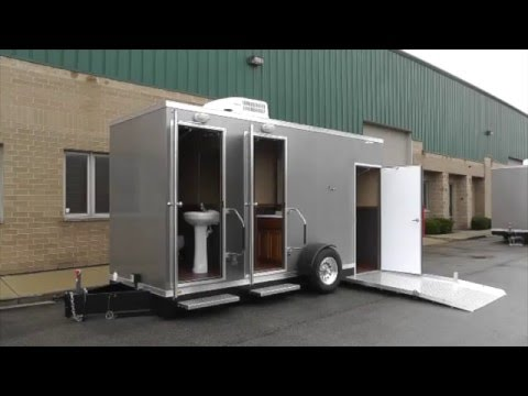ADA Restroom Trailers | ADA +2 Station Comfort Series Custom