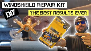How to Repair a Windshield Chip / Amazon s Choice DIY Window Rock Chip Repair kit for 10 dollars