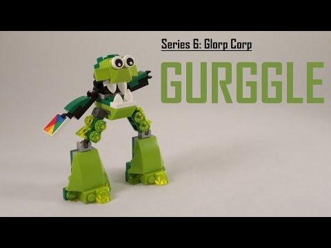 Vidéo LEGO Mixels 41549 : Gurggle