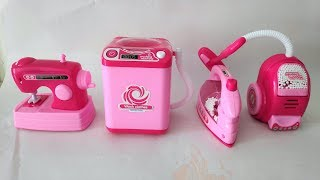 HouseHold Set On Amazon // Pink Kitchen And Home Appliance Cooking Toys For Kids Compilation