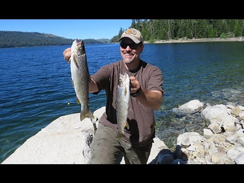How To Catch Sierra Trout At French Meadows Reservoir: Episode 4