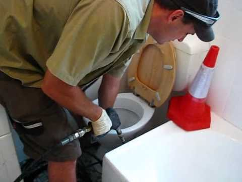 How To Water Jet A Blocked Toilet - Sydney Plumber