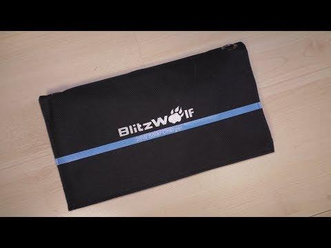 Походная солнечная батарея BlitzWolf BW-L3 28W 3.8A