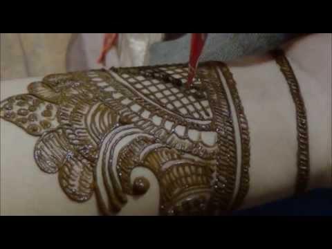 bridal mehndi design step by step tutorials by mehndi artistica