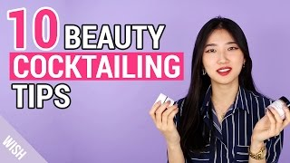 Cosmetic Mixing Hacks | Wishtrend Cosmetic Cocktailing | Wishtrend