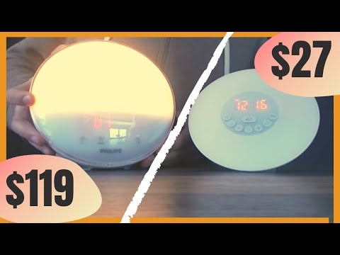 Philips Wake Up Light Review vs $27 option (is it worth the money?)