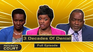 3 Decades Of Denial: Man Was Not Ready For Baby 35 Years Ago (Full Episode)   Paternity Court