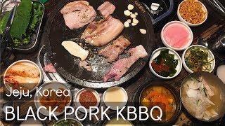 Premed Travel Vlog 25: BLACK PORK, SEAFOOD RAMEN, Beach, & Cafe @ Jeju Island