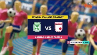 Nacional Vs. Santa Fe (Resumen Y Mejores Momentos) | Liga Aguila 2019-I | Fecha 20