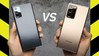 Samsung Galaxy Note20 vs Samsung Galaxy Note20 Ultra Drop Test!