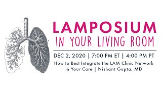 How to Best Integrate the LAM Clinic Network in Your Care | LAMposium In Your Living Room