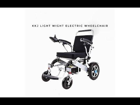 Light Weight Wheelchair (low cost aluminium wheelchair)