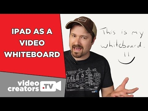 How To Use an iPad as a Video Whiteboard