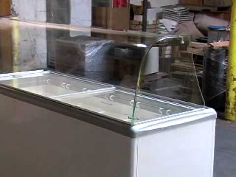 SP 12-TWELVE CAN ICE CREAM DIPPING CABINET