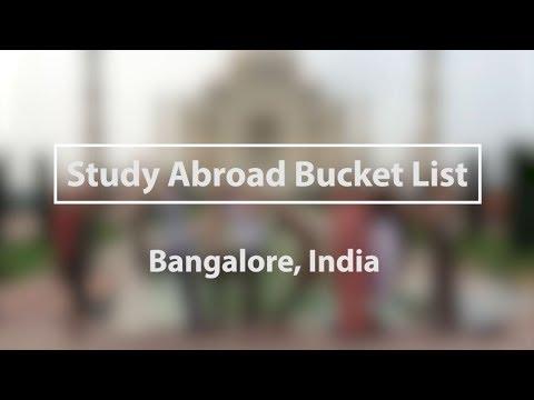Bangalore Bucket List