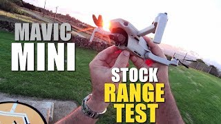 DJI Mavic MINI Range Test to 0% Power - How Far Will it Go? (Bonus CRASH TEST!)