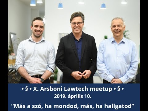 Arsboni  - Lawtech Meetup projektvideó