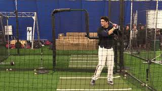 Tayler Aguilar Under Armour Showcase 100mph Exit Velo, 93 Mph Throwing Velo From Outfield