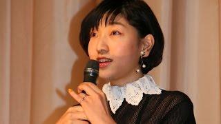 安藤サクラ、自身の演技見て「自分じゃない人みたい」映画「百円の恋」初日舞台あいさつ1#SakuaAndo#event