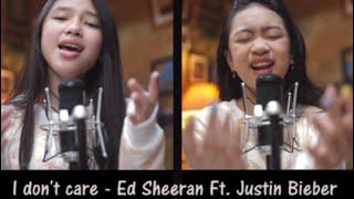 Ed Sheeran & Justin Bieber   I Don't Care ( Cover By Zara Leola & Anneth Dlc )