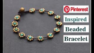 How To Make Macrame Bracelets With Beads Handmade Jewellery Ideas  DIY Thread Bracelet  Creation&you