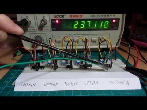 HighFrequencyOpAmpOscillators