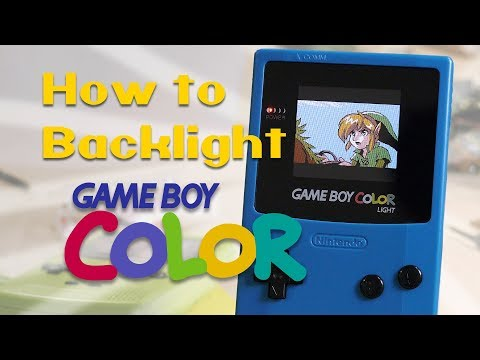 How to Backlight a Game Boy Color - The Ultimate Guide (BennVenn AGS-101 Mod)