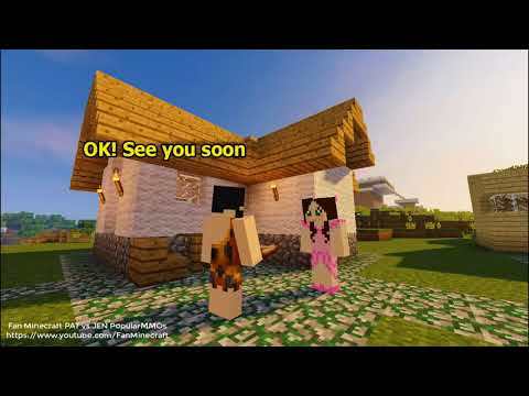 NEW Popularmmos Pat and Jen Minecraft: How did Jen destroy The Terrible Monster?