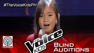 "The Voice Kids Philippines 2015 Blind Audition: ""Hanggang Kailan Kita Mamahalin"" by Kate"