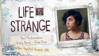 Best Performance - Golden Joysticks - Ashly Burch/Chloe Price