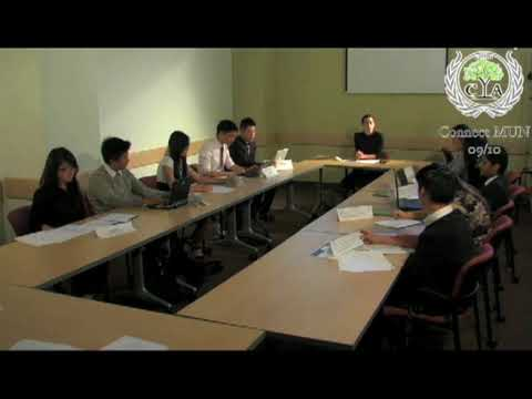 mock model united nations the movie