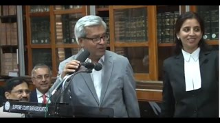 Lecture of Mr. Justice R.F. Nariman, Judge Supreme Court of India at SCBA, Part-1