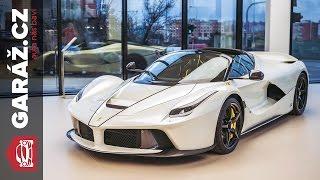 Ferrari LaFerrari Aperta: Nejdražší současné Ferrari v Česku