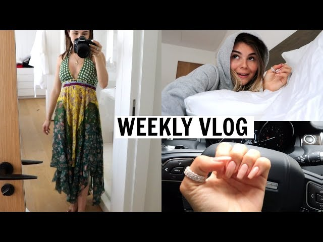VLOG 7 l morning routine, self tanning routine, mini haul, etc.