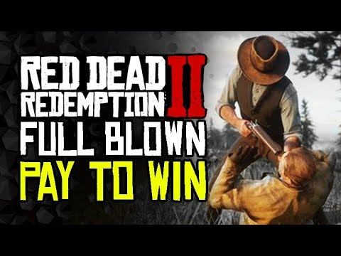 Red Dead 2 Online is Pay To Win