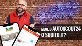 Le dritte di Andrea: acquistare su Autoscout24 o Subito.it? - Video