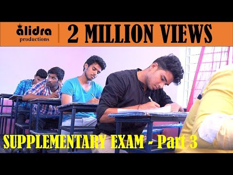 Supplementary Exam    Part 3   Final Battle    Latest Telugu comedy short film 2017   by kkr