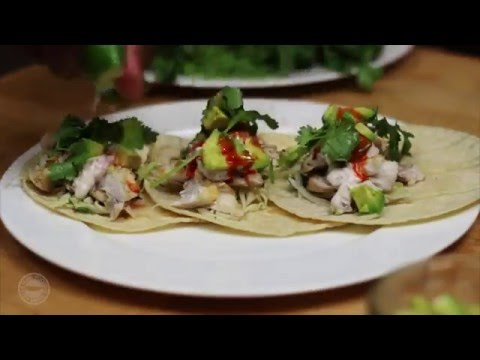 Cooking Grilled Fish Tacos