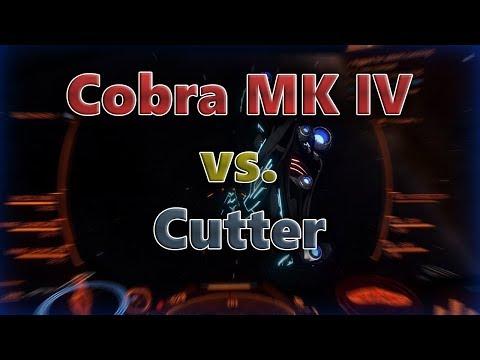 Elite: Dangerous PvP - Stealth Cobra vs Imperial Clipper