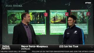 Pro Tour Magic 2015: Deck Tech with Lee Shi Tian -