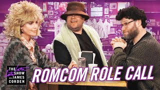 Rom Com Role Call w/ Charlize Theron & Seth Rogen