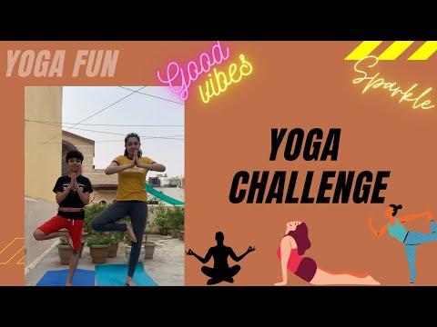 YOGA CHALLENGE | Navyadaksh|funchallenge