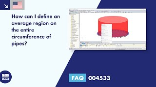 FAQ 004533 | How can I define an average region on the entire circumference of pipes?